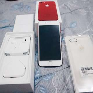 Iphone 7 Red special edition 256GB