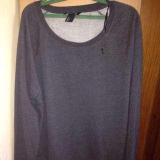"BrandNew Basic H&M Sweater ""Gray"""