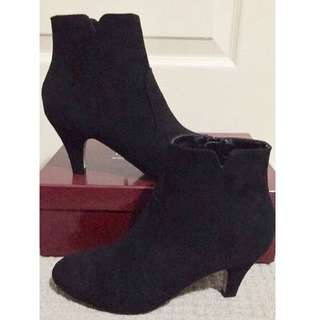 Therapy Black Heeled Boots