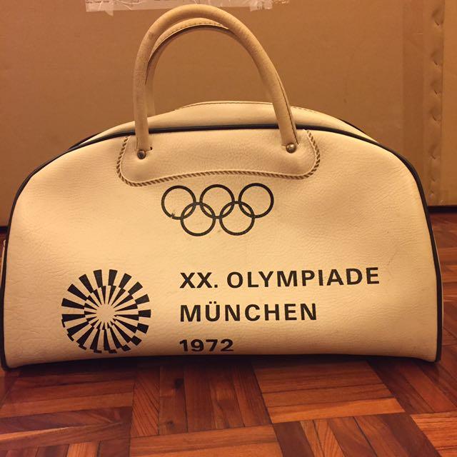 1972慕尼黑奧運紀念保齡球包