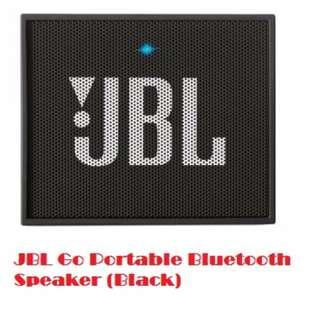 JBL Go Portable Bluetooth Speaker (Black)
