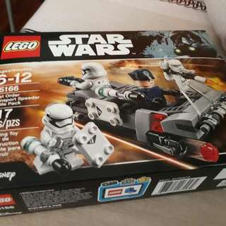 Lego Star Wars First Order Trooper Battle Pack