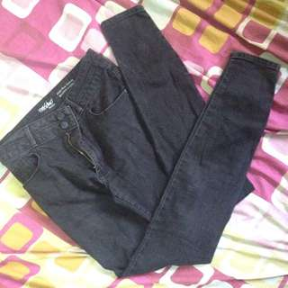 """New Mossimo """"Black Denim Wash"""" Fit Jeans"""