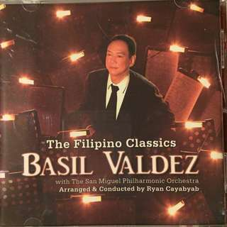 Basil Valdez  The Filipino Classics autographed