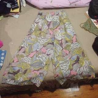 Korean Printed Culottes