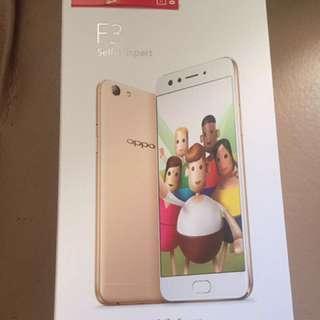 Oppo F3 Gold