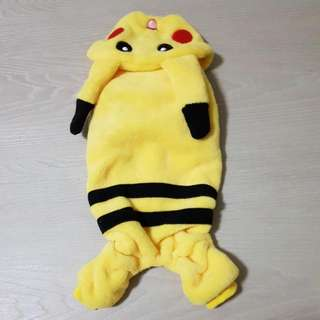 Pikachu Overall Jumper For Dogs