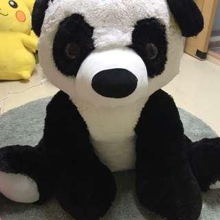超大熊貓公仔一隻 全新