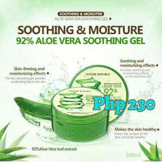 Nature Republic Soothing & Moisture Aloe Gel