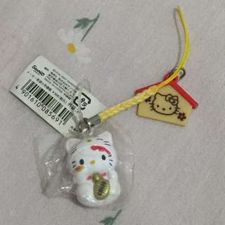 Authentic Hello Kitty makineko charm