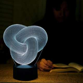 Special 3D Art LED Table Lamp Atmosphere Nightlights as Holiday Gift Home Bedroom Foyer Office Decoration Desk Lighting GX624