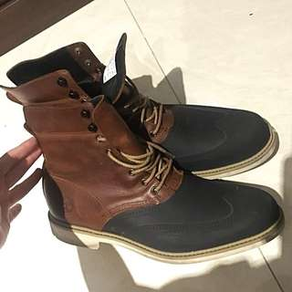 Timberland Boots (Leather)