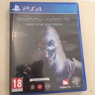 Blueray Disk Shadow Of Mordor