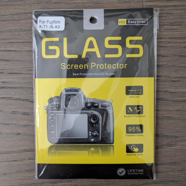 "3"" tempered glass screen protector"