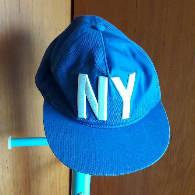 藍色街頭風棒球帽