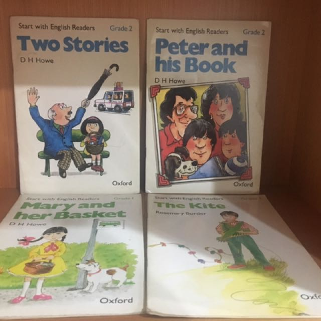 英語故事書 4本一起售