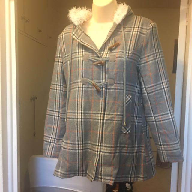 🆕 Juicy Couture Duffle Jacket Size Medium