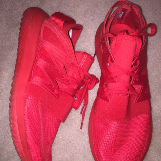Adidas Woman's Tubular Red