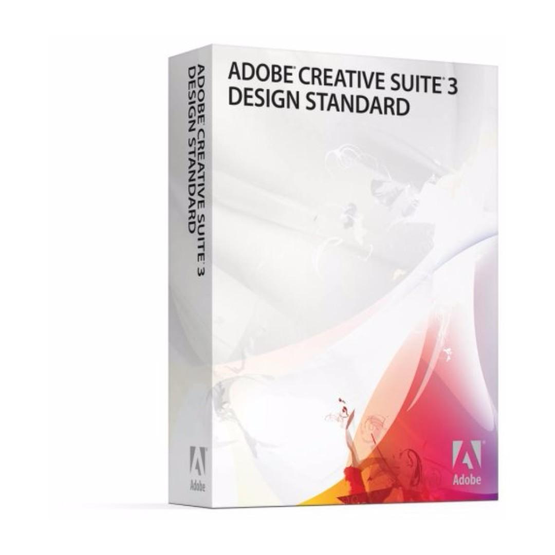 Adobe Creative Suite CS3 Design Standard [Mac] ORIGNIAL