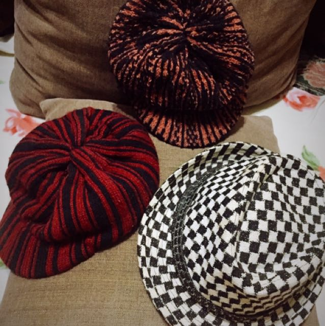 All 3 Hats For 100