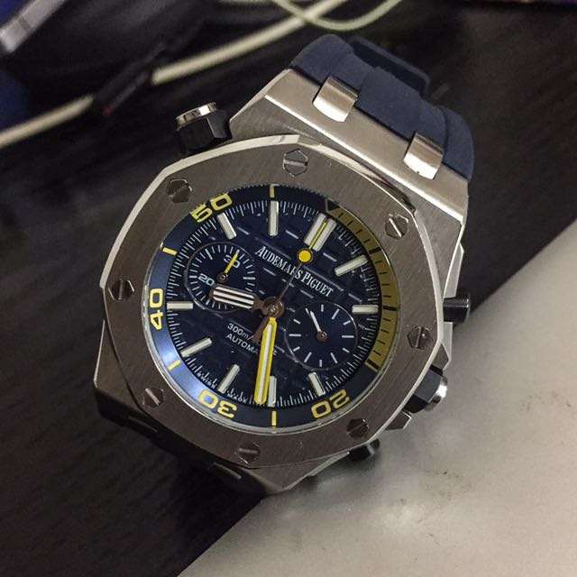 Offshore Diver Pictures : Ap watch royal oak offshore diver branded luxury replica