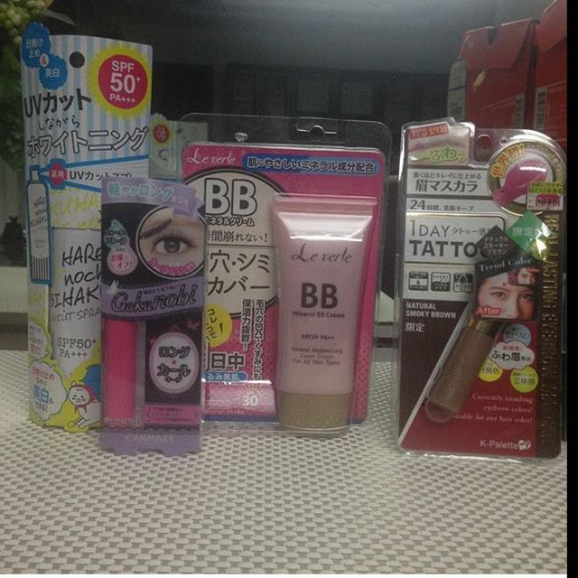 Authentic Make Ups Bought In Japan