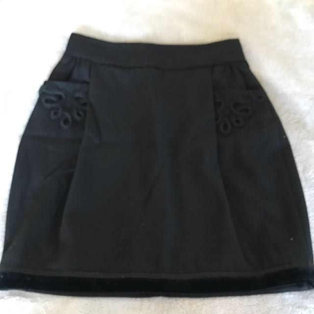 Bally Black Skirt