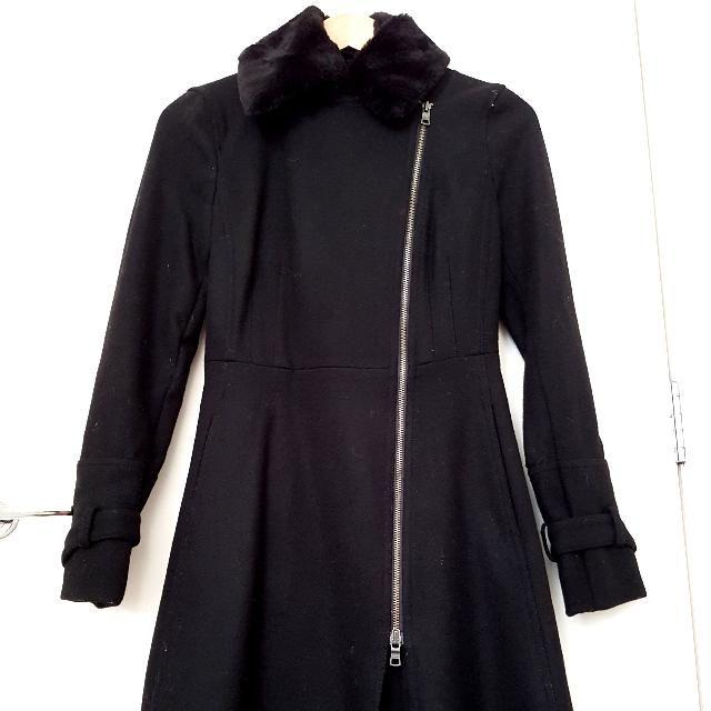 BLACK TRENCH COAT by Armani Exchange