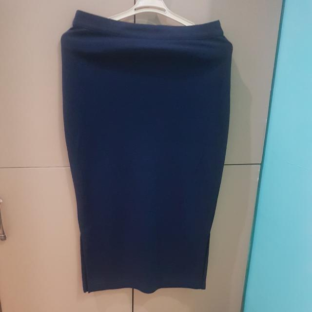 Blue Pencil Skirt 150 Only