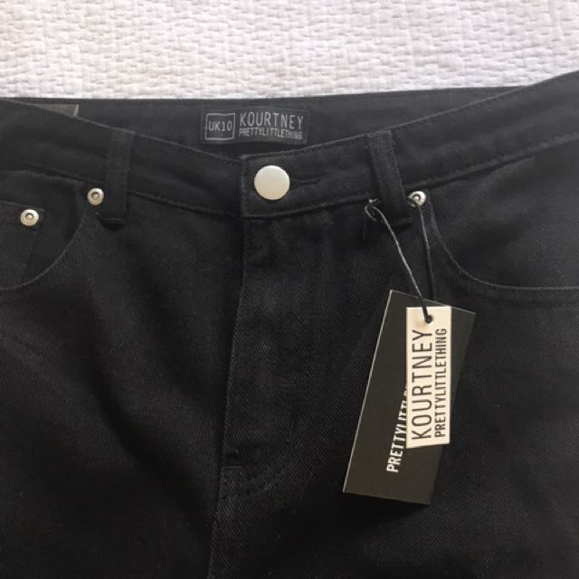 Boyfriend black jeans