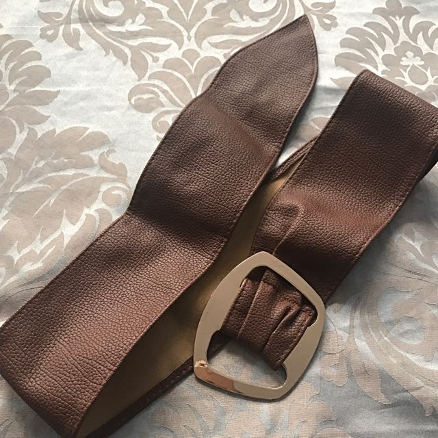 Brown Wrap Belt