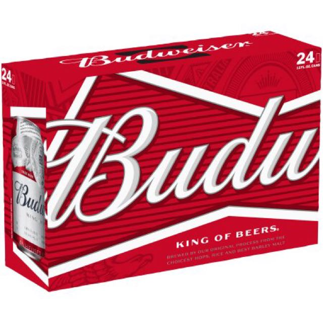 Budweiser in Can is On Sale