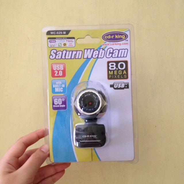 Cd-r King Webcam