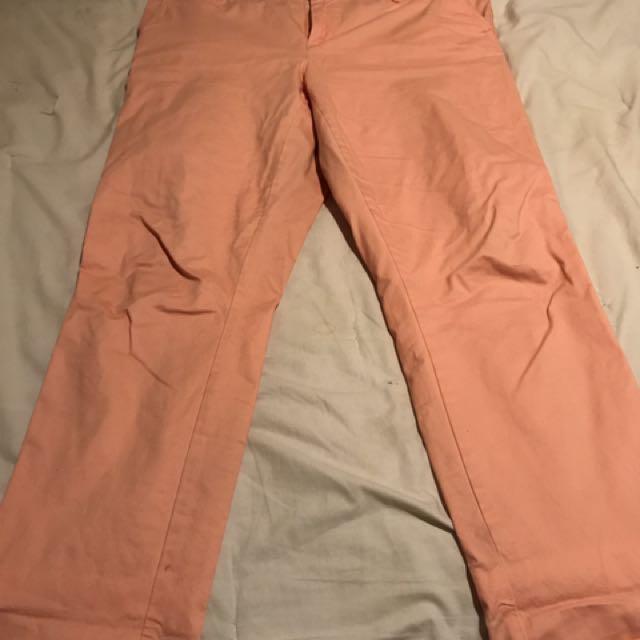 Coral Tommy Hilfigure Pants