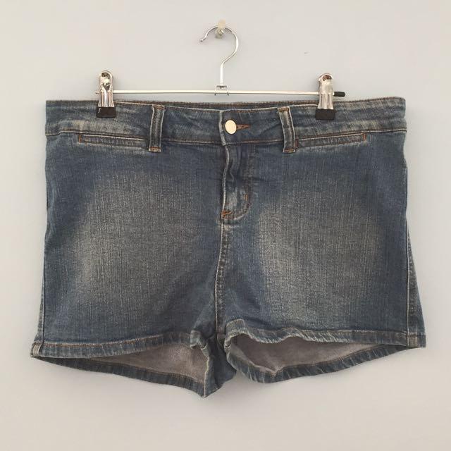 Denim Shorts Size 14