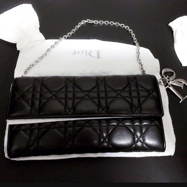 Dior Lady Dior Wallet With Chain 00ef625425004