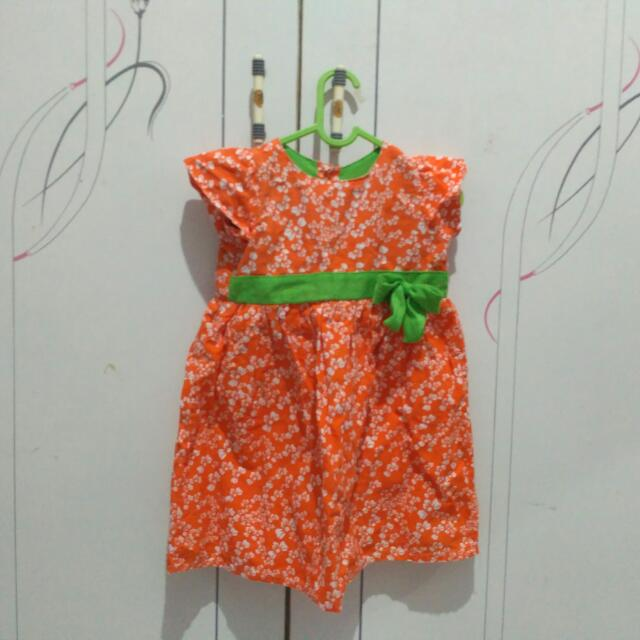 Dress anak umur 2-3 tahun Hippofant