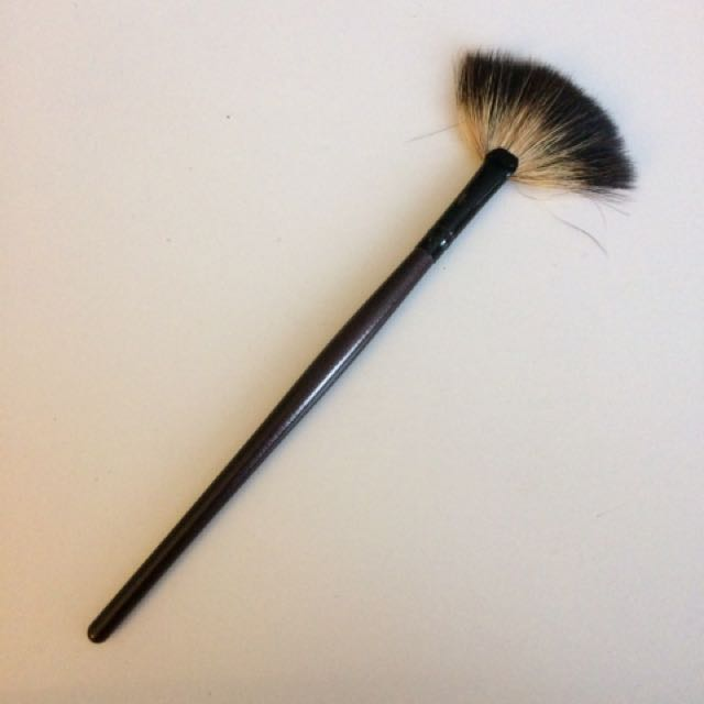 Fan Brush - Perfect For Powder Highlight Or Contour