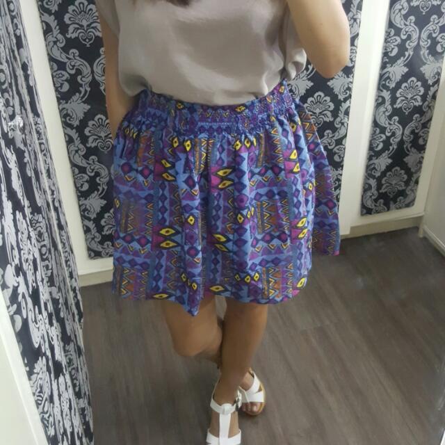 7084317f9712 Forever 21 Aztec Skirt