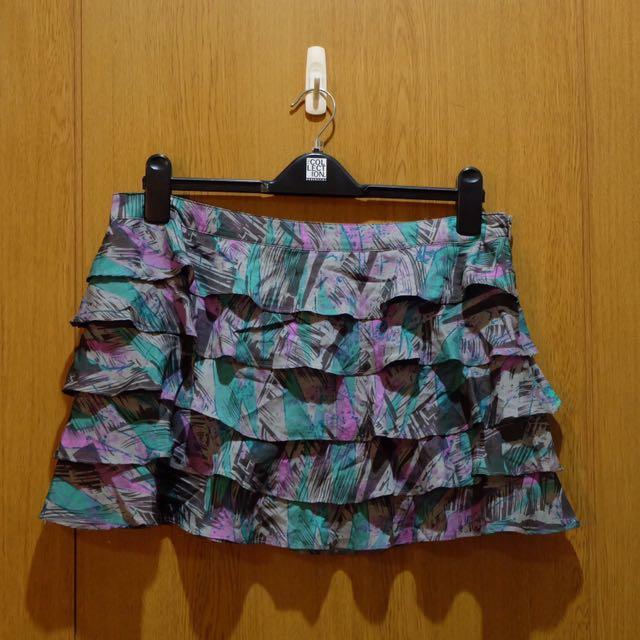 Forever 21 Ruffled Skirt