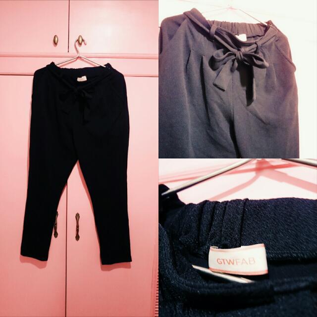 GTWFAB Black Tie  Pants 👖