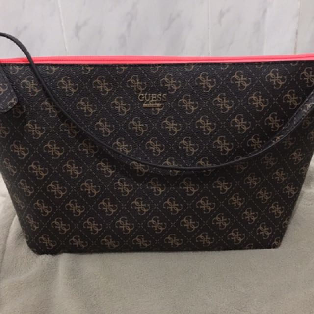 guess bobbi reversible bag