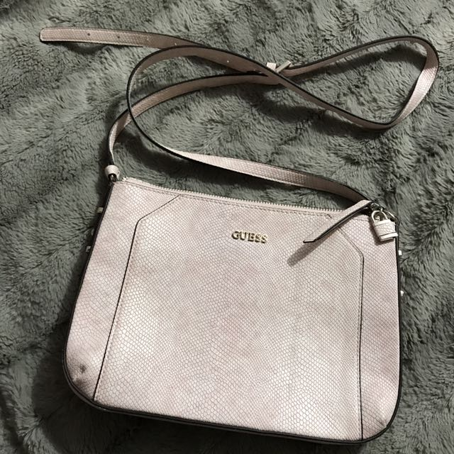Guess Pink Sling Bag