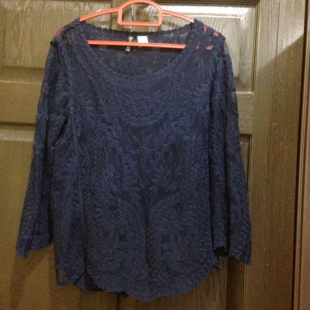 H&M Crochet Lace Top