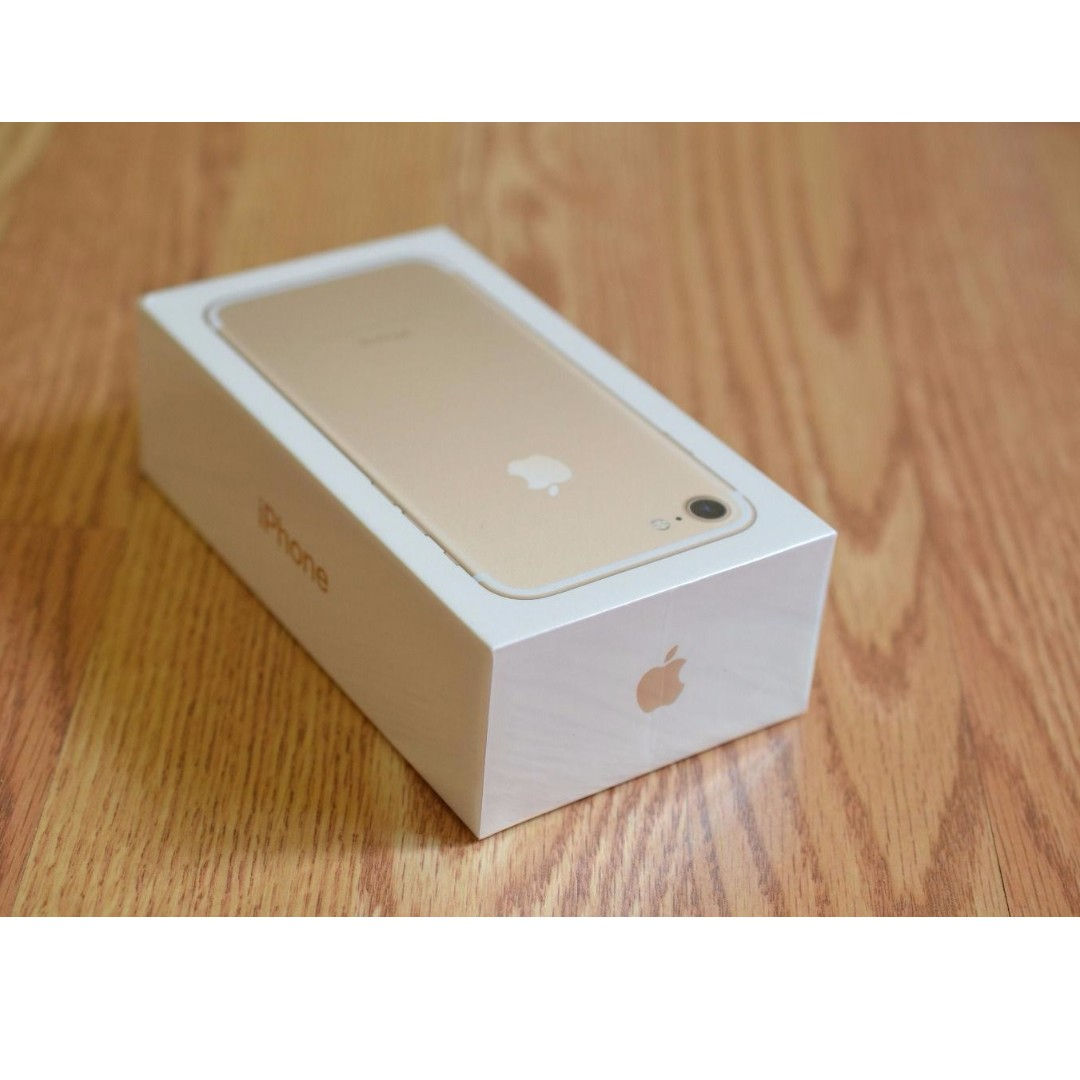 Iphone 7 32gb Gold Brand New