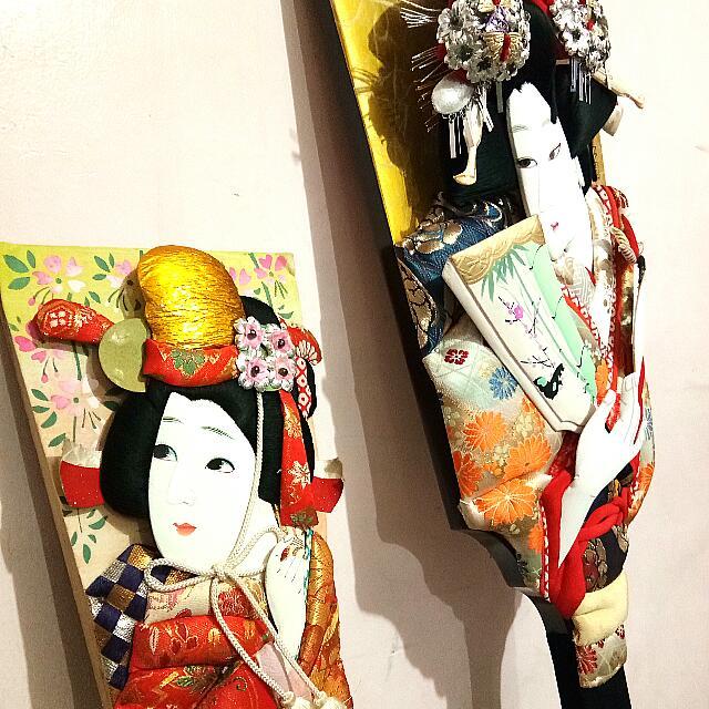 Japanese Traditional Art & Dolls Display