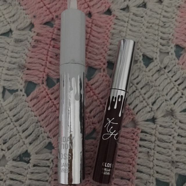 Authentic Jolly Gloss From Kylie Cosmetics Holiday Collection