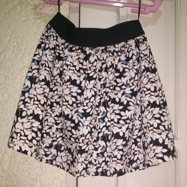 Just G Floral Skirt