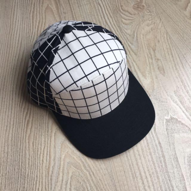 Kangol 格紋棒球帽