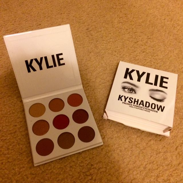 Kylie Burgundy Palette